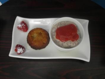 Kartoffel-Orangen-Dessert, Mandel-Mohn-Pudding - Rezept