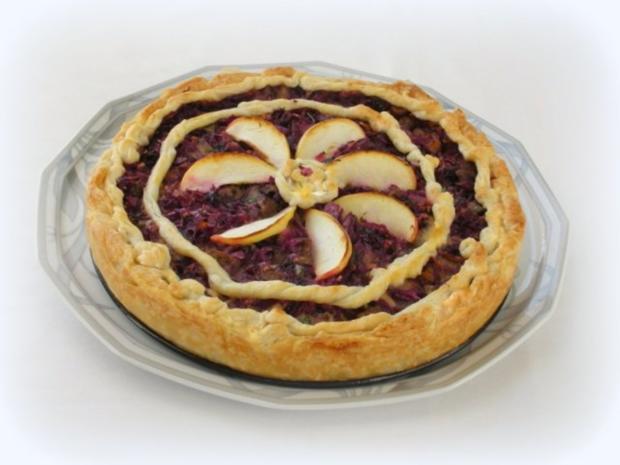 Rotkraut Kuchen mit Entenfleisch - Rezept - Bild Nr. 2