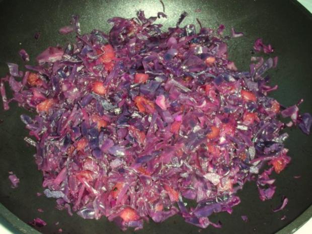 Rotkraut Kuchen mit Entenfleisch - Rezept - Bild Nr. 11