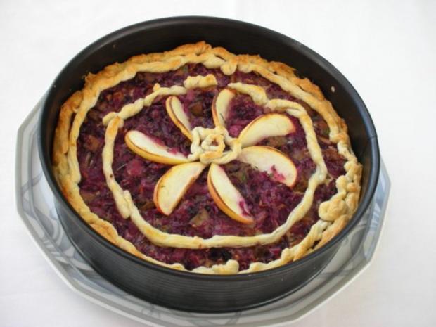 Rotkraut Kuchen mit Entenfleisch - Rezept - Bild Nr. 19