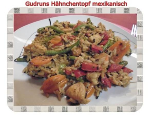 Geflügel: Hähnchentopf mexikanisch - Rezept