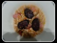 Weiße Bohnen mit Speck,Mettwurst und gebratener Blutwurst - Rezept