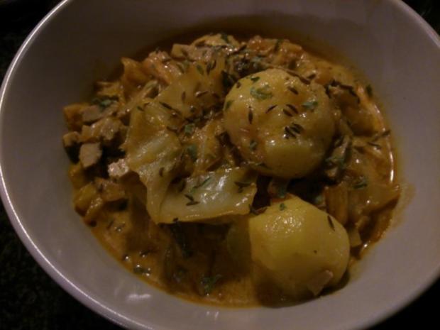 Kartoffel-Weißkraut-Topf - Rezept - Bild Nr. 2