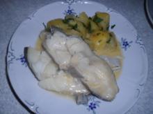 Fisch: Steinbutt an Buttersauce - Rezept