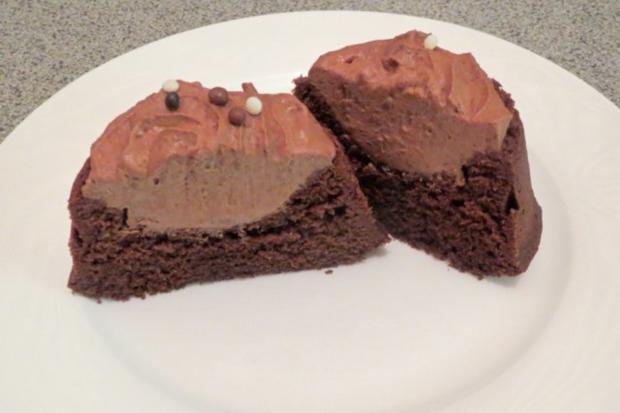 Backen: Schoko-Schoko-Cupcakes - Rezept
