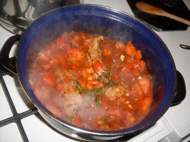 Lammfilets in einer Paprika-Tomaten-Kräuter-Sauce ...... - Rezept - Bild Nr. 3