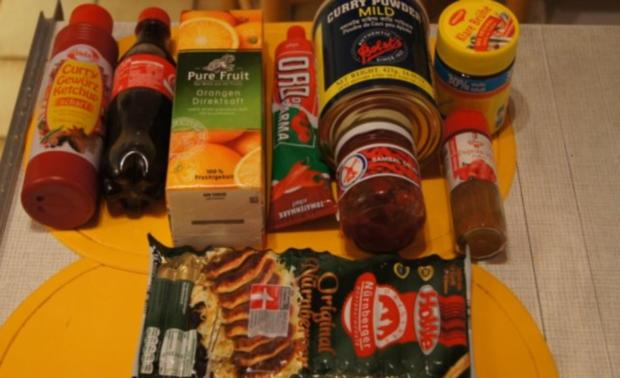 Nürnberger Rostbratwürstchen als Currywurst - Rezept - Bild Nr. 2