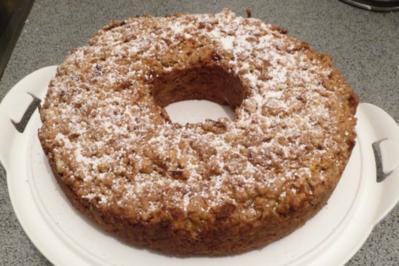 Rezept: Backen: Kürbis-Nuss-Kuchen
