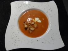 Altdeutsche Tomatencreme-Suppe - Rezept