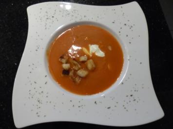 Rezept: Altdeutsche Tomatencreme-Suppe