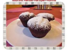 Muffins: Mandel-Marzipan-Muffins - Rezept