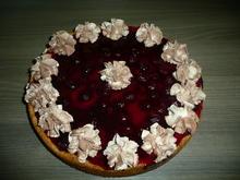 Creme fraich - Sauerkirschkuchen zum Geburtstag. - Rezept - Bild Nr. 261