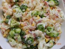 Broccoli/Blumenkohl Salat - Rezept