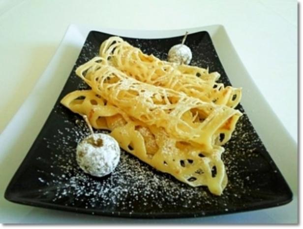 Spitzen Pfannkuchen mit einer Prise Fantasie - Rezept - Bild Nr. 535
