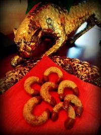 Weihnachtsplätzchen: Maroni-Kipferl - Rezept