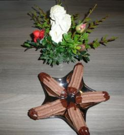 Weihnachtsgebäck : Haselnuss - Stangen ! - Rezept