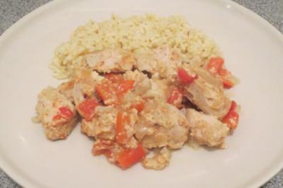 Kochen: Hähnchenbrust aus dem Backofen, indisch angehaucht - Rezept