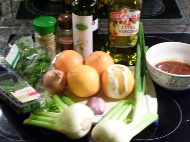 Orangen- Fenchel Salat mit Ingwer- Honig  Dressing - Rezept - Bild Nr. 2