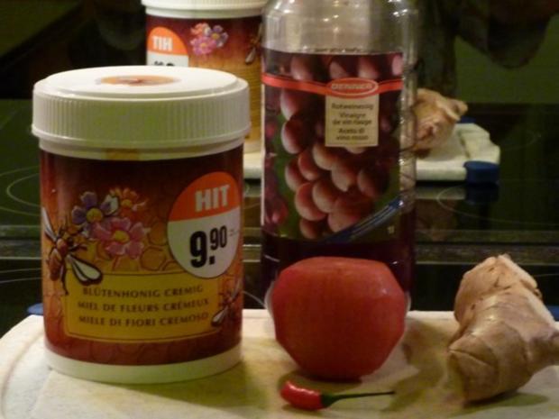 Orangen- Fenchel Salat mit Ingwer- Honig  Dressing - Rezept - Bild Nr. 3