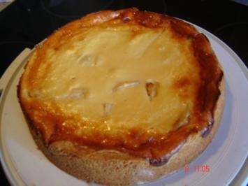 Birnen-Schmand-Kuchen - Rezept