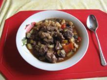 Fleisch-Gmüseeintopf - Rezept