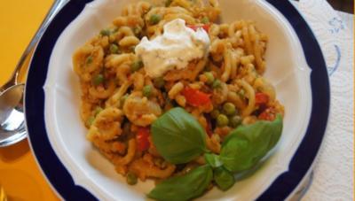 Linsencurry-Pasta à la Papa - Rezept