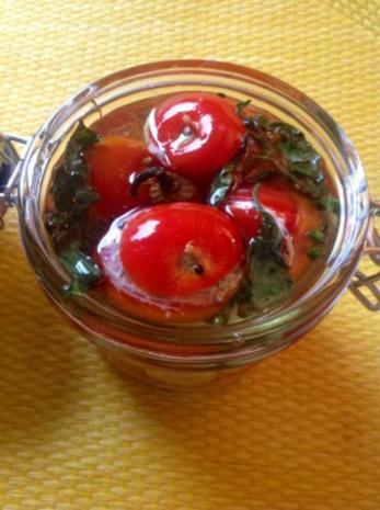 eingelegte gefüllte Tomaten - Rezept - Bild Nr. 6