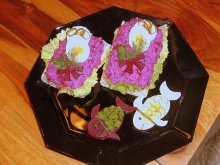 Roter Heringssalat - toll anzusehen und sagenhaft lecker - Rezept