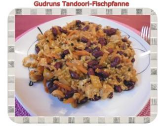 Fisch: Tandoori-Fischpfanne - Rezept