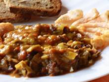 Pfannengericht: Gemüsepfanne mit Garnelen - Rezept