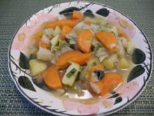 Suppen & Eintöpfe : Geschichteter Gemüseeintopf - Rezept