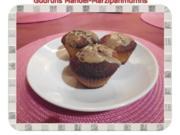 Muffins: Mandel-Marzipanmuffins mit Zimtguss - Rezept