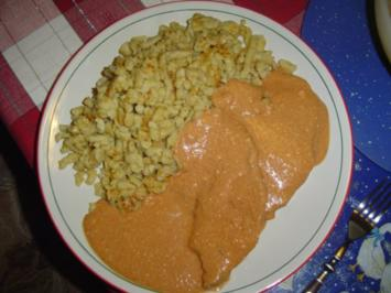 Mascarponeschnitzel - Rezept