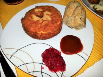 Gebackener Camembert - Rezept