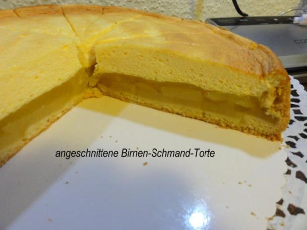 Mürbeteig:   BIRNEN - SCHMAND - TORTE - Rezept - Bild Nr. 2
