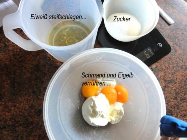 Mürbeteig:   BIRNEN - SCHMAND - TORTE - Rezept - Bild Nr. 5