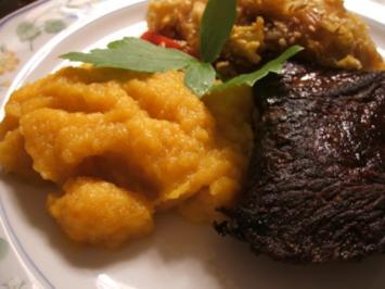 Rezept: Gemüse: Wurzelgemüse-Püree (vegan)