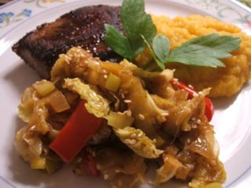 "Gemüse: Buntes Pfannengemüse ""Asian Style"" - Rezept"