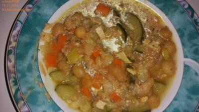 Suppen und Eintöpfe: Kichererbseneintopf - Rezept