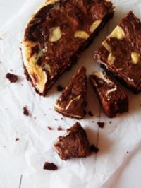 Cheesecake Swirl Brownies - Rezept