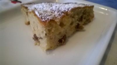 Apfel Rosinen Feigen Kuchen - Rezept