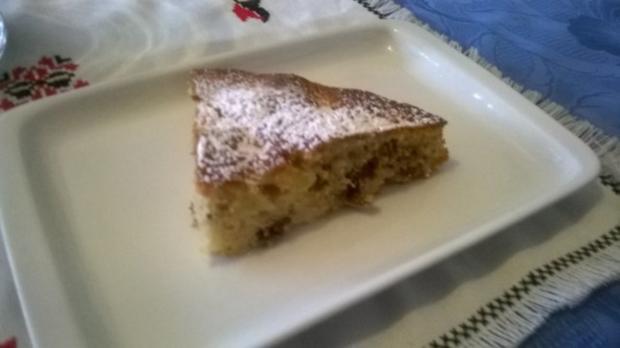Apfel Rosinen Feigen Kuchen - Rezept - Bild Nr. 3