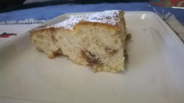Apfel Rosinen Feigen Kuchen - Rezept - Bild Nr. 4