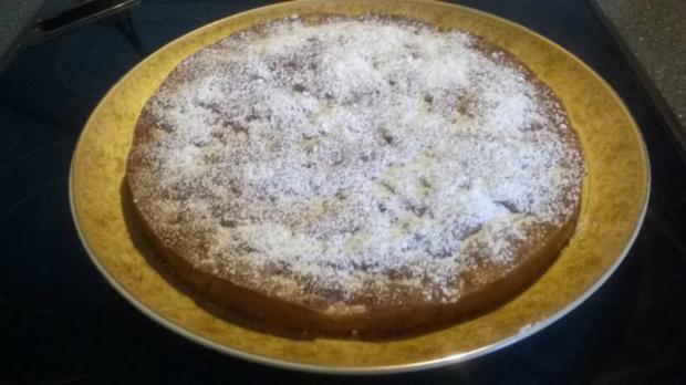 Apfel Rosinen Feigen Kuchen - Rezept - Bild Nr. 7