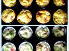 Muffin`s mit Rhababer - Rezept