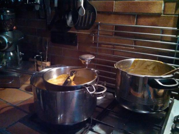 Thai Kürbis Kokosnuss Curry creme suppe ... - Rezept - Bild Nr. 10