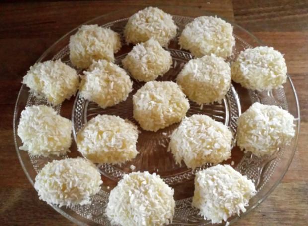 Kokos-Pralinen - Rezept