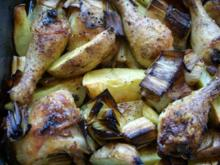 Zitronenhühnchen trifft Kartoffel - Rezept