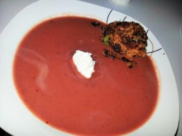 Winterliche Rote Bete Suppe - Rezept