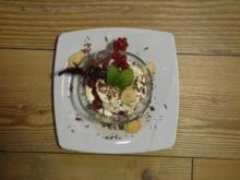 Englisches Dessert mit beschwippsten Kirschen - Rezept